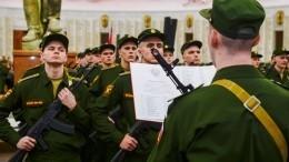 Путин отложил осенний призыв вармию