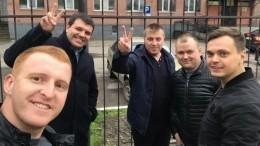 «Нас освободили!»— полицейские изБоровичей поблагодарили граждан заподдержку