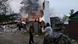 Фото: Баллон сгазом взорвался вчастном доме вЕАО