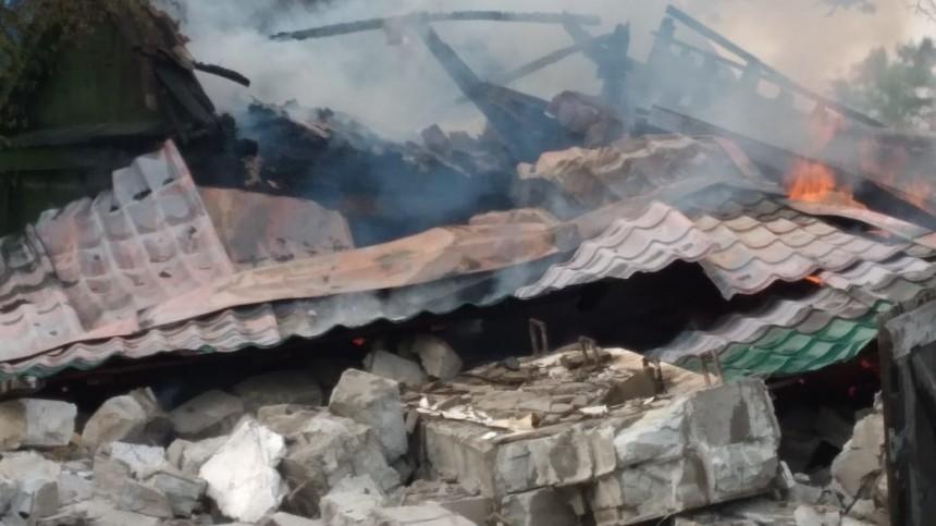 Тело мужчины нашли под завалами дома после взрыва газового баллона вЕАО