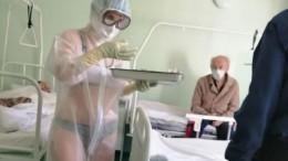 Тульскую медсестру, надевшую бикини под прозрачный костюм, поддержал губернатор