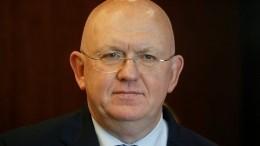 Василий Небензя напомнил зарубежным коллегам овине Украины впотере Крыма