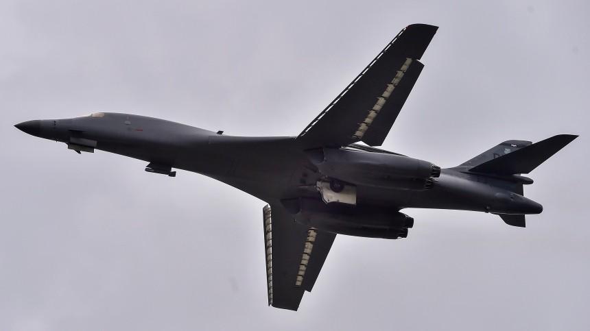 После заявления США овыходе изДОН американский бомбардировщик заметили над Охотским морем