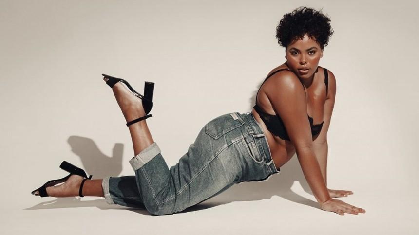 «Легендарно!»— наобложке Vogue появилась обнаженная плюс-сайз модель