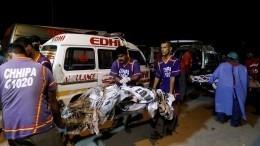 Число жертв авиакатастрофы вПакистане возросло до80