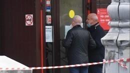 «Хотел узнать правду»— кадры допроса подозреваемого взахвате заложников вотделении банка вМоскве