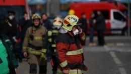 Крупный пожар вбольнице вПриморье локализован— хроника событий