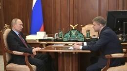Путин призвал РЖД минимально сокращать инвестиции вреальный сектор