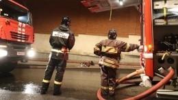 ВМоскве произошел пожар наэлектроподстанции