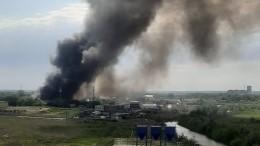 Неменее девяти частных домов загорелось впригороде Самары