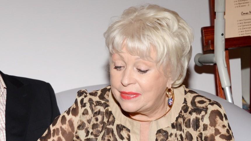 Вдова Караченцова пожаловалась нанехватку денег из-за пандемии