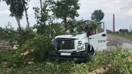 Мощный ураган полностью разрушил деревню вКемеровской области