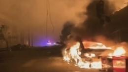 Миннеаполис вогне: протестующие напали намедиков, приехавших напомощь