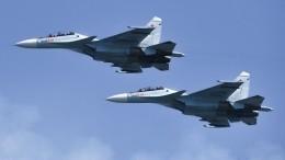 Истребители ВКС РФперехватили бомбардировщики США над Черным иБалтийским морями