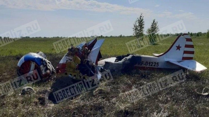 Самолет Як-52 рухнул вНижегородской области