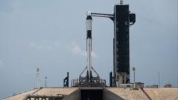 Прямая трансляция второй попытки NASA запустить Crew Dragon кМКС