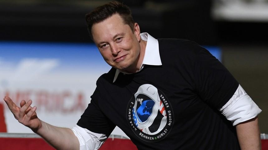 Батут работает» Илон Маск ответил на шутку Рогозина — видео