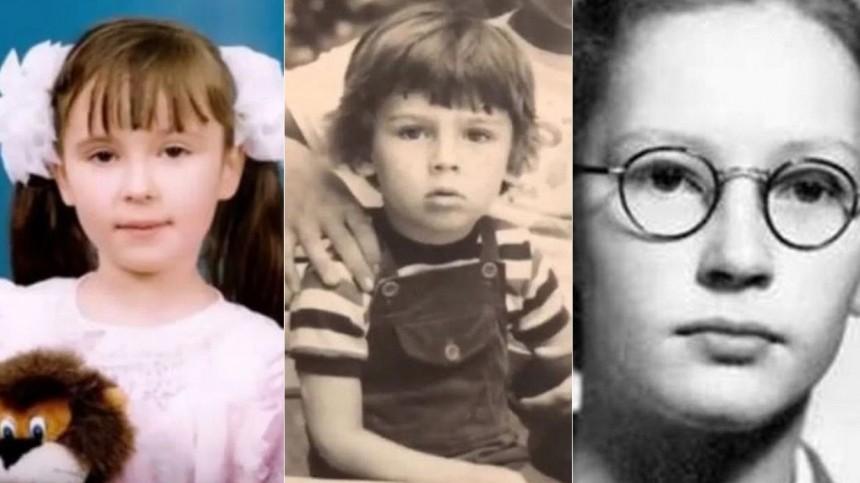 Фото: Знаменитости вдетстве исейчас. Узнаете Пугачеву, Лободу иКрида?