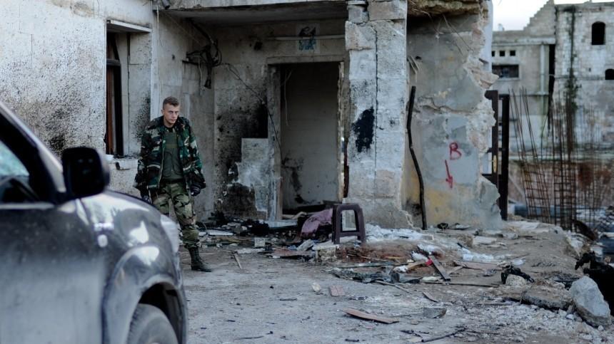 Заминированный автомобиль взорвался впригороде Алеппо. Есть жертвы