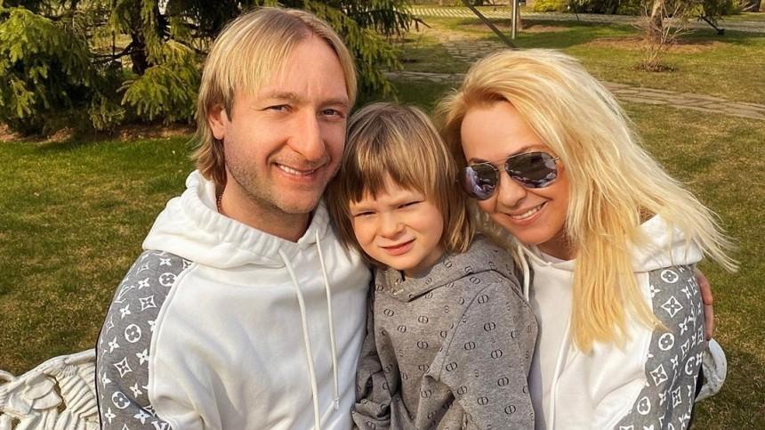 Сына Плющенко иРудковской начали избегать дети из-за слухов оболезни