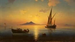 «Неаполитанский залив» Айвазовского ушел смолотка почти затри миллиона долларов