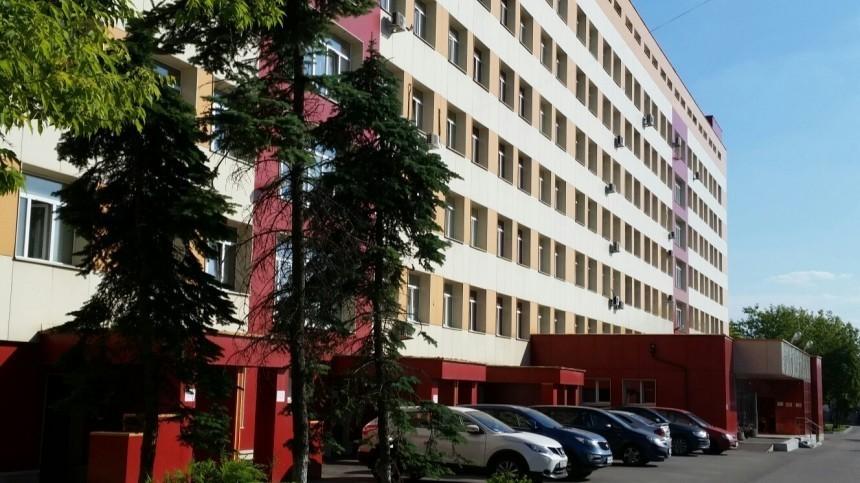 Очевидцы сообщают опожаре вНИИпедиатрии насевере Москвы