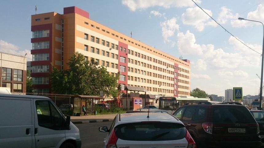 Задымление произошло вНИИпедиатрии вМоскве