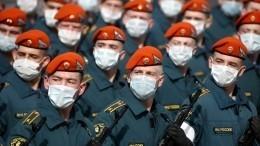 Курсанты МЧС приступили кподготовке кучастию вПараде Победы