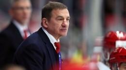Валерий Брагин назначен главным тренером национальной сборной похоккею