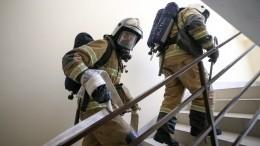 Взрыв произошел вжилом доме наюге Москвы