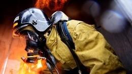 Видео: торговый центр горит вгороде Октябрьский вБашкирии