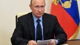 «Чтобы певцу петь, ондолжен дышать»: Путин овозможности летних концертов