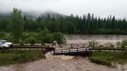 Три автомобильных моста разрушены паводками вКрасноярском крае