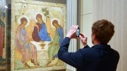 Какие тайны зашифрованы взнаменитой «Троице» Андрея Рублева