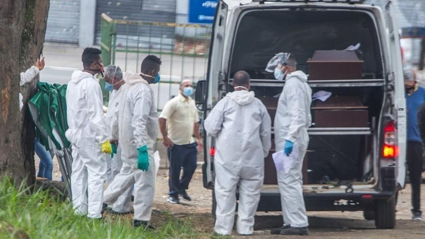 Число жертв коронавируса вмире превысило 400 тысяч человек