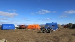 Видео: команду ликвидаторов ЧСвНорильске усилили дудинскими спасателями