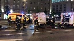 ВМоскве после ДТП сЕфремовым перекрыли пять полос Садового кольца