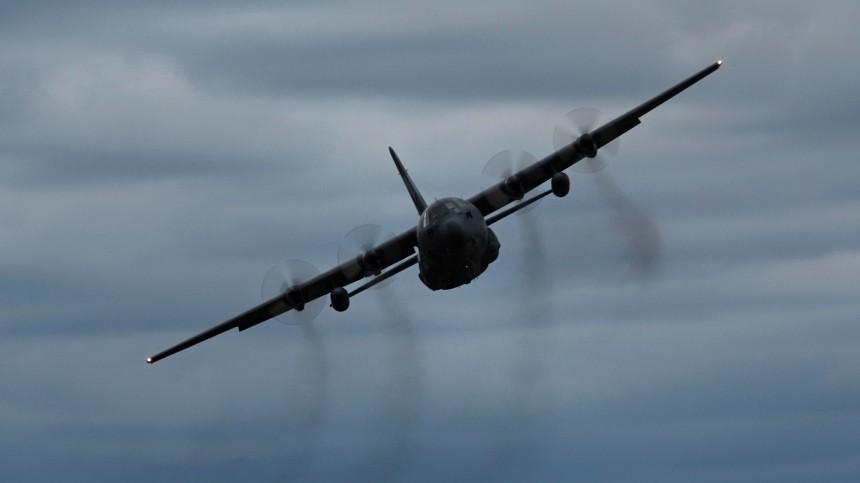 Самолет ВВС США потерпел крушение навоенной базе вИраке