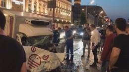 Фото: пострадавшего вДТП сЕфремовым зажало вавтомобиле