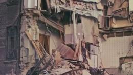Жилой дом рухнул вОдессе— кадры сместа