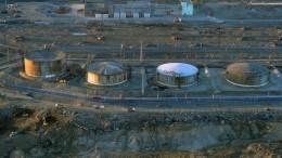 Росприроднадзор предлагает откачать топливо изтрех баков наТЭЦ вНорильске
