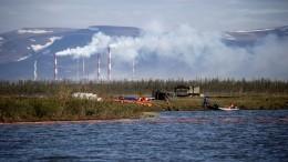 Директор ТЭЦ вНорильске, где произошел разлив топлива, арестован до31июля