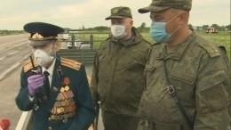 Репетиция парада Победы вПетербурге прошла под командованием ветерана ВОВ