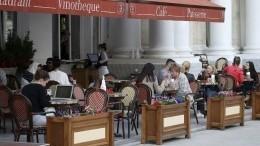 Летние веранды подмосковных кафе иресторанов откроются 12июня