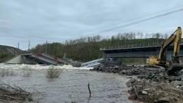 Режим ЧСввели вМурманской области из-за обрушения моста