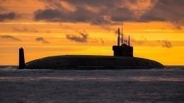 Атомная подлодка «Князь Владимир» вошла всостав российского ВМФ