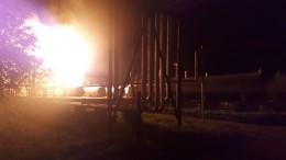 Один человек погиб итрое пострадали при взрыве вгазохранилище вКазани