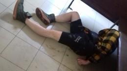 Мертвецки пьяного звезду «Дома-2» Кудряшова доставили вполицию