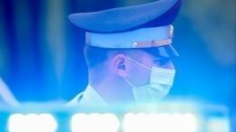 Видео сместа стрельбы наюго-западе Москвы, где ранены сотрудники ГИБДД