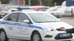 Момент стрельбы между сотрудниками ГИБДД итаксистом вМоскве попал навидео